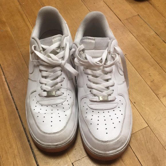 NIKE AIR FORCE 1 '82 MEN'S SHOES WHITE       Size 8      Good used condition